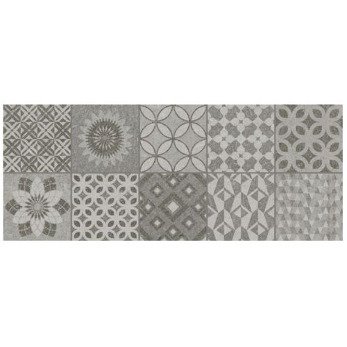ΠΛΑΚΑΚΙ ΤΟΙΧΟΥ KARAG Decor Isole METROPOLI Grey 20x50 cm